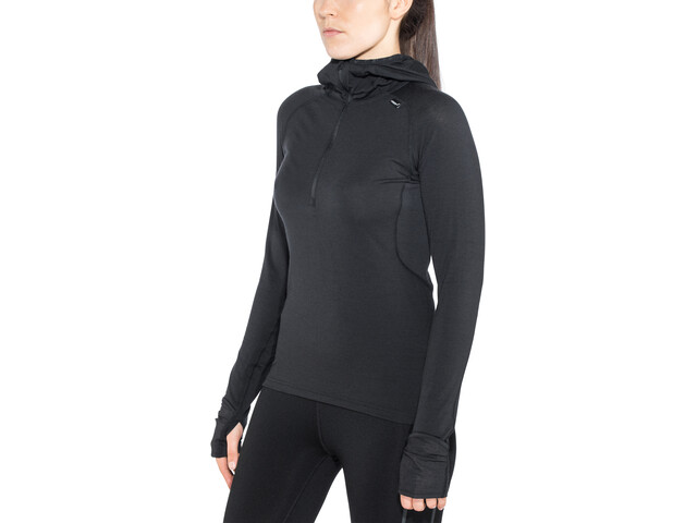 inov-8 Merino LS Zip Top Women, black